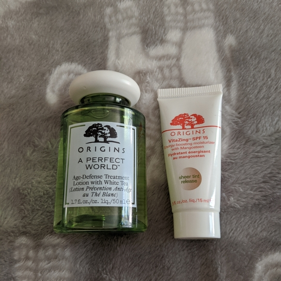 Origins face lotion bundle